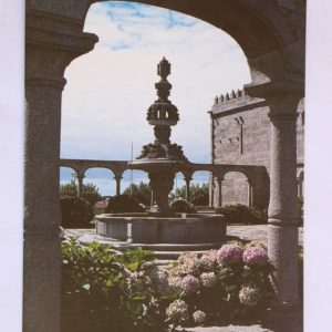 Fonte do Claustro - postal