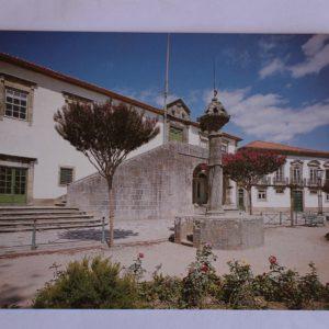 Paços do Município e Pelourinho - postal