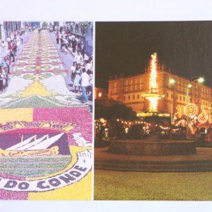 Tapetes de Flores (Festa do Corpo de Deus) / Festas de São João - postal