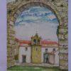 Igreja de São Francisco - postal / pintura