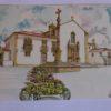 Largo da Misericórdia - postal / pintura