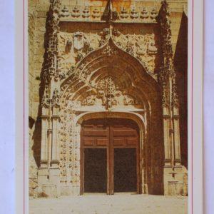 Portal da Igreja Matriz de estilo gótico (séc. XV) - postal