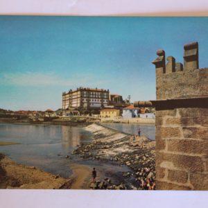 Mosteiro de Santa Clara (séc. XVIII), Azenha (séc. XVI) e Rio Ave - postal