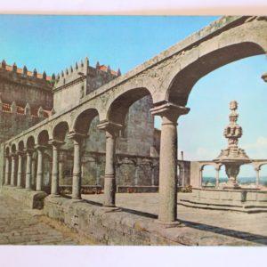 Igreja (séc. XIV) e Claustro do Mosteiro de Santa Clara - postal