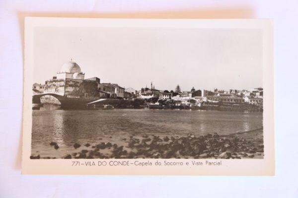 Capela do Socorro e vista parcial - postal