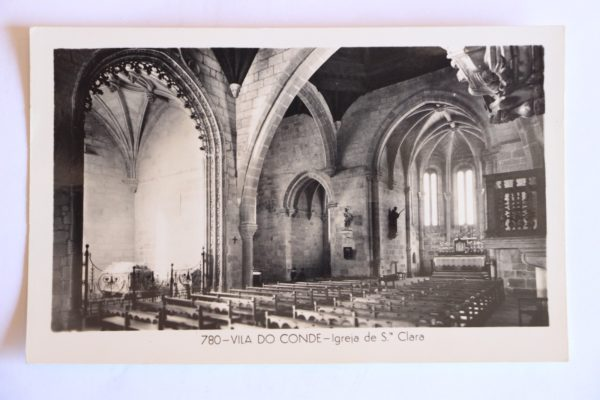 Igreja de Santa Clara - postal