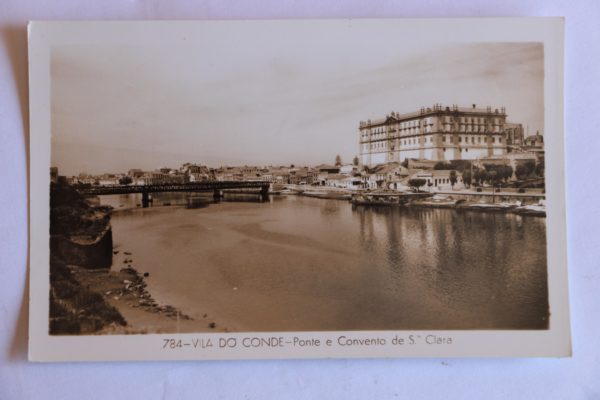 Ponte e Convento de Santa Clara - postal