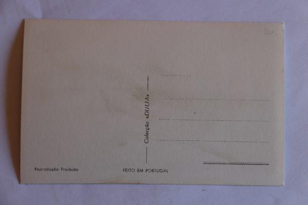 Ponte e Convento de Santa Clara - postal - verso
