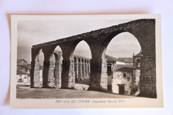 Aqueduto Século XVIII - postal