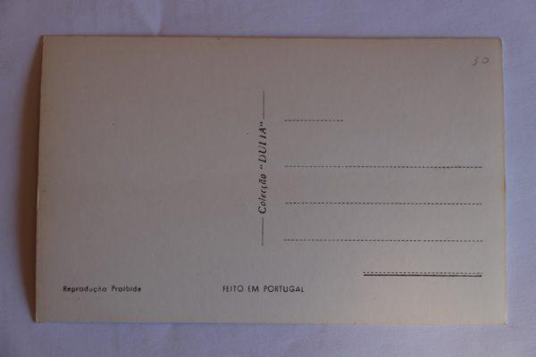 Aqueduto Século XVIII - postal - verso