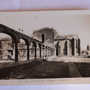 Claustro e Igreja de Santa Clara - postal