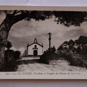 Crucifixo e Capela do Monte de Sant'Ana - postal