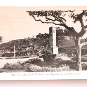 Monumento aos Mortos da Grande Guerra - postal