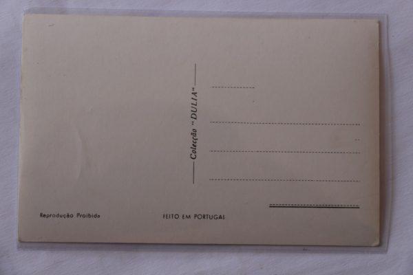Igreja de Santa Clara - Rosácea - postal - verso