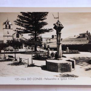 Pelourinho e Igreja Matriz - postal