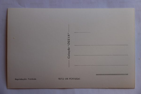 Pelourinho e Igreja Matriz - postal - verso