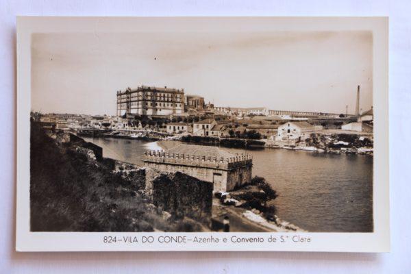 Azenha e Convento de Santa Clara - postal