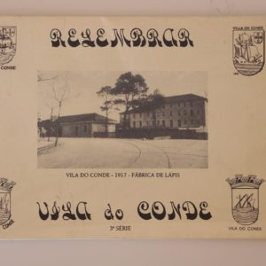 Relembrar Vila do Conde - 3ª série - capa