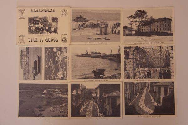 Relembrar Vila do Conde - 4ª série - postais - verso