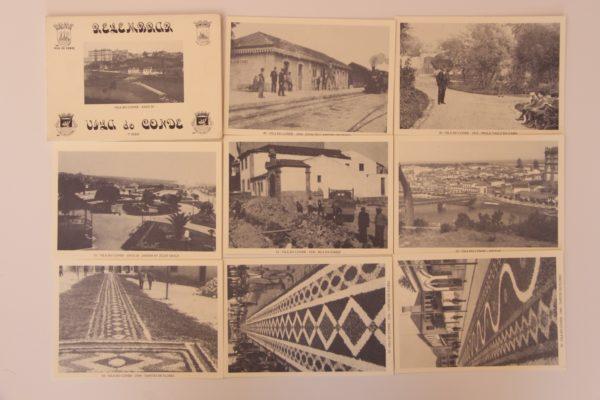 Relembrar Vila do Conde - 7ª série - postais - verso