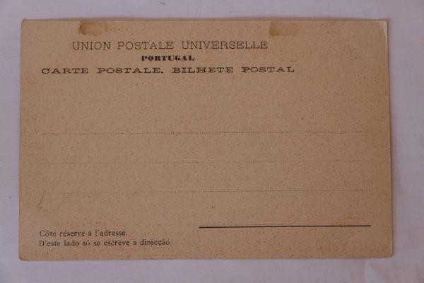 Villa do Conde - Lavoura (Labourage) - postal - verso