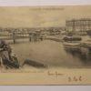 """Convento Santa Clara e ponte sobre o rio """"Ave"""" - postal"""