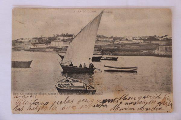 Villa do Conde - Panorama - postal
