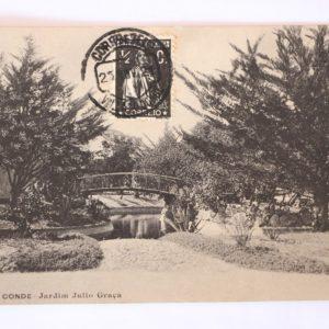 Villa do Conde - Jardim Júlio Graça - postal