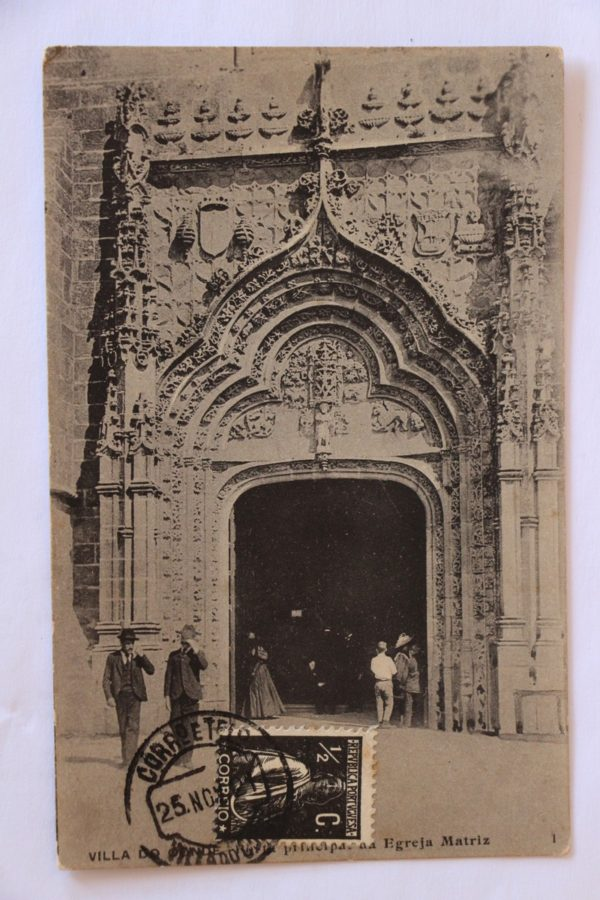 Porta principal da Igreja Matriz - postal