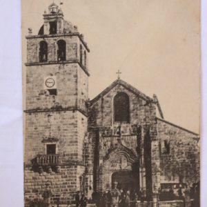 Villa do Conde - Egreja Matriz - postal