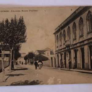 Villa do Conde - Avenida Bento Freitas - postal