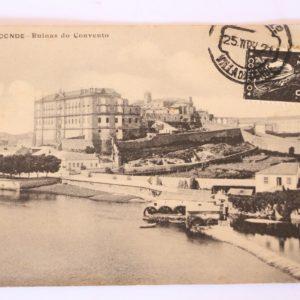 Villa do Conde - Ruínas do Convento - postal