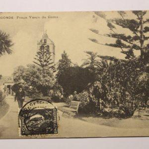 Villa do Conde - Praça Vasco da Gama - postal