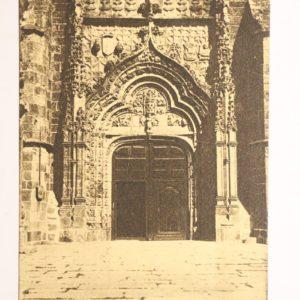Porta principal da Egreja Matriz - postal