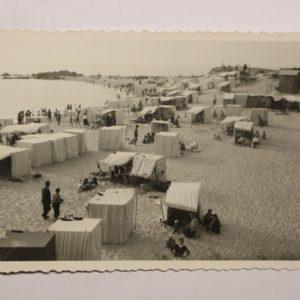 Aspecto da Praia de Mindelo - postal