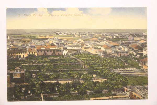 Vista Parcial - Praia - Villa do Conde - postal