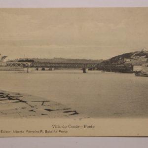 Villa do Conde - Ponte - postal