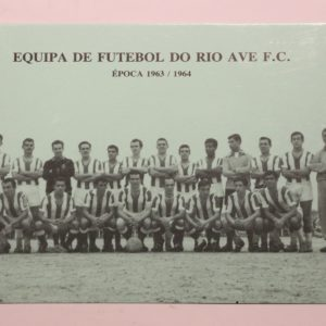 Equipa de Futebol do Rio Ave F. C. - postal