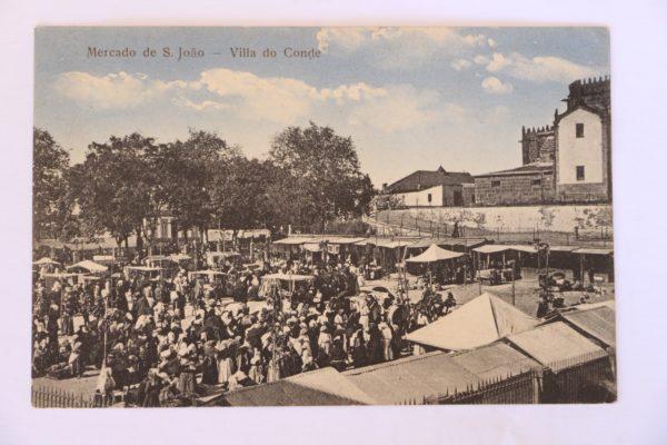 Villa do Conde - Mercado de São João - postal