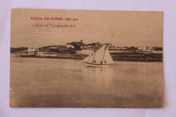 Villa do Conde - Rio Ave - postal