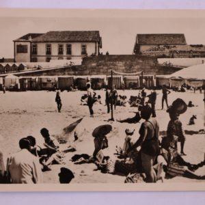 Aspecto da Praia (contra luz) - postal