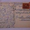Claustro do Convento de Santa Clara - postal - verso