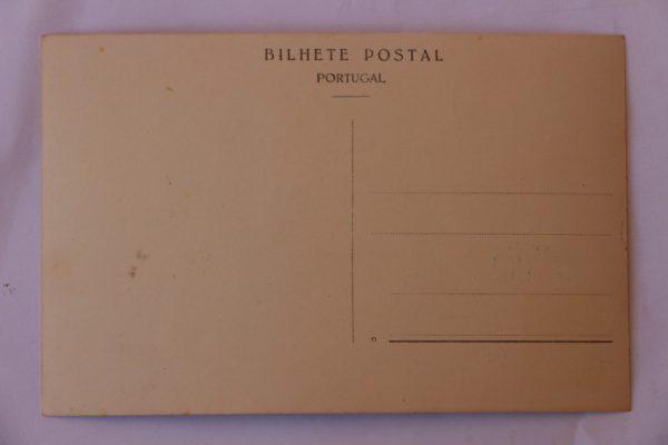 Fachada nascente do Convento - postal - verso