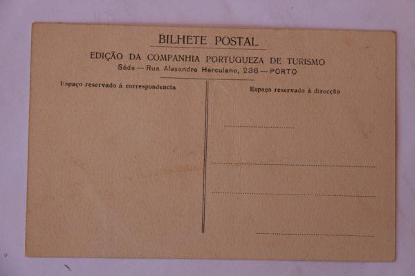 Casa minhota - Propriedade do Ex.mo Snr. José Menéres - postal - verso