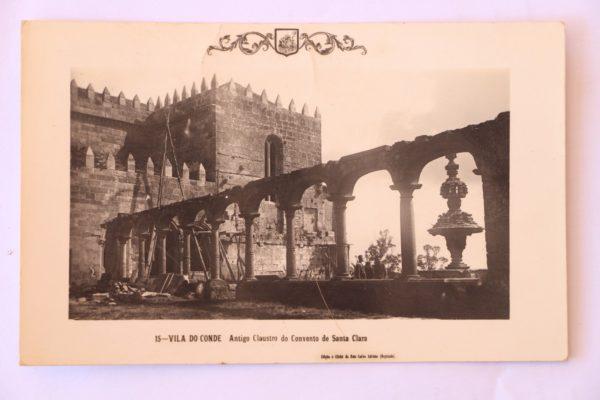 Antigo Claustro do Convento de Santa Clara - postal