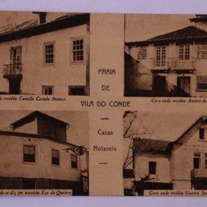 Casas Notáveis - postal