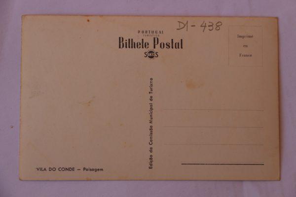 Paisagem - postal - verso