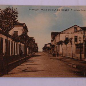Avenida Bento Freitas - postal