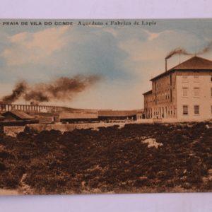 Aqueduto e Fábrica de Lápis - postal
