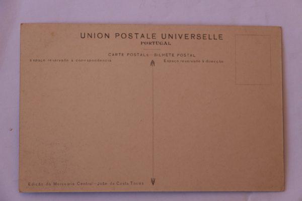 Aqueduto e Fábrica de Lápis - postal - verso